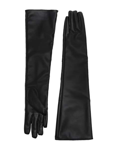 Gants longs en faux cuir, 32€, 8 by yoox