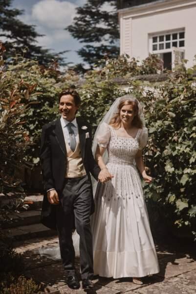 Beatrice d'York et Edoardo Mapelli Mozzi