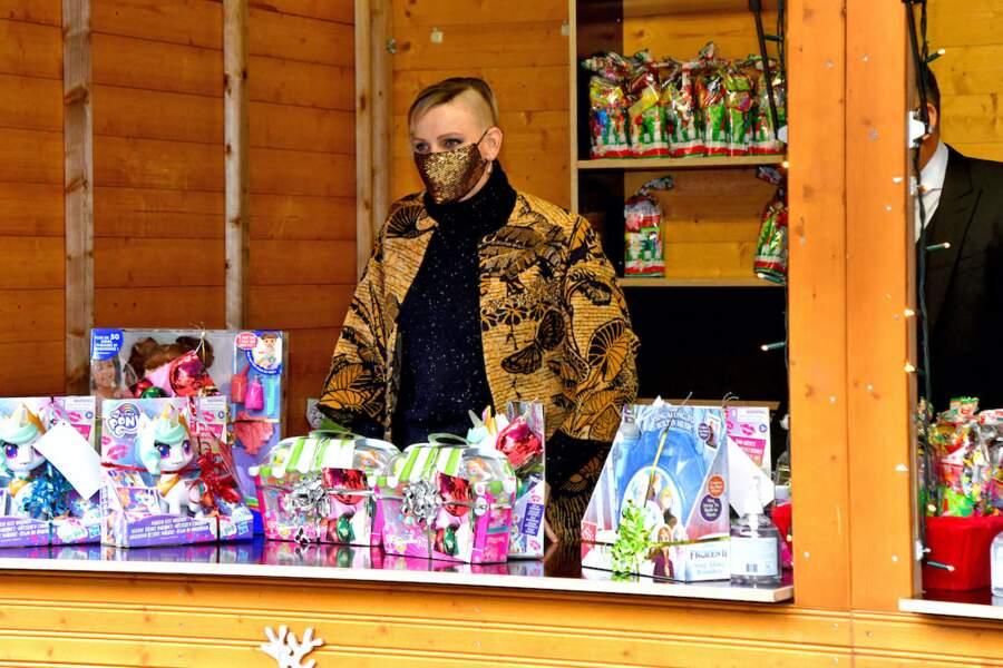 Charlène de Monaco casse les codes avec sa nouvelle coupe de cheveux, dévoilée lors du traditionnel Arbre de Noël