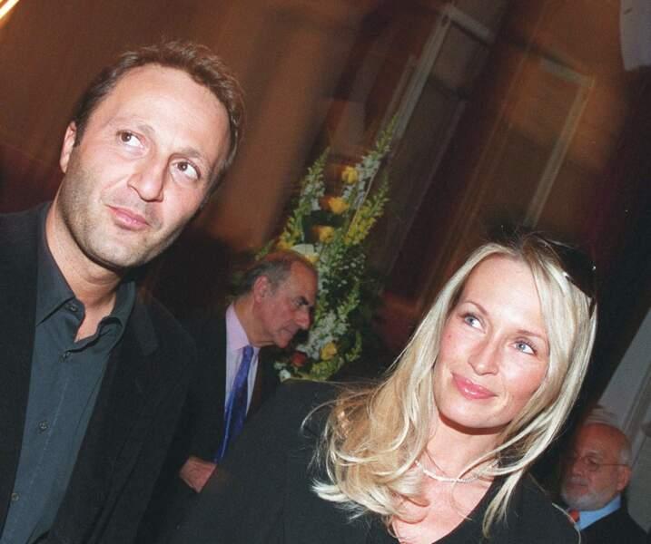 Arthur et Estelle Léfébure, le 27 mars 2003, quand Pierre Charon est fait chevalier de la Légion d'honneur.