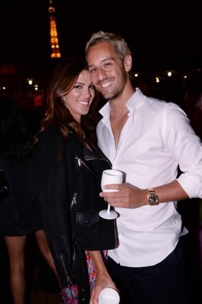 Iris Mitteanere et Diego El Glaoui prenaient la pose ensemble, déguisés à l'occasion d'une fête d'Halloween à New York