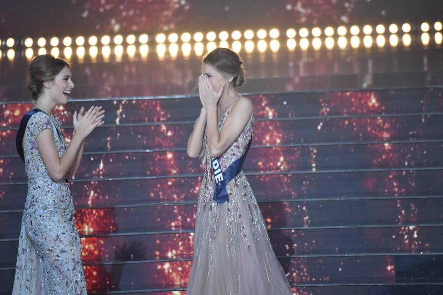 Miss Provence, 1ère Dauphine, et Miss Normandie élue Miss France 2021