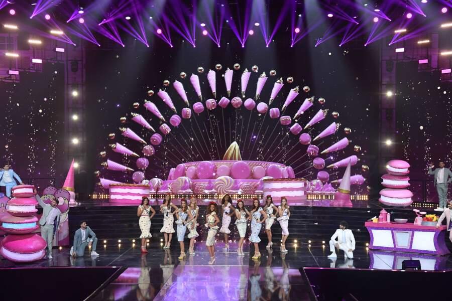 Les candidates à l'élection de Miss France 2021