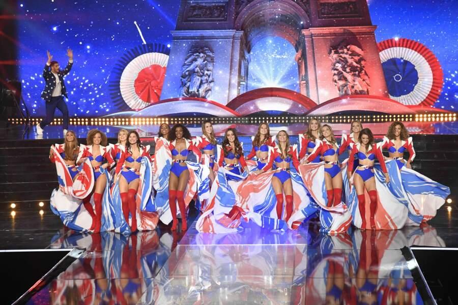 Nouveau tableau très frenchy pour les Miss