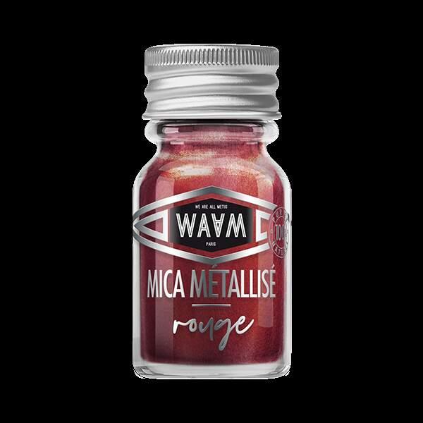 Mica Métallisé Rouge, Waam, 3,90€