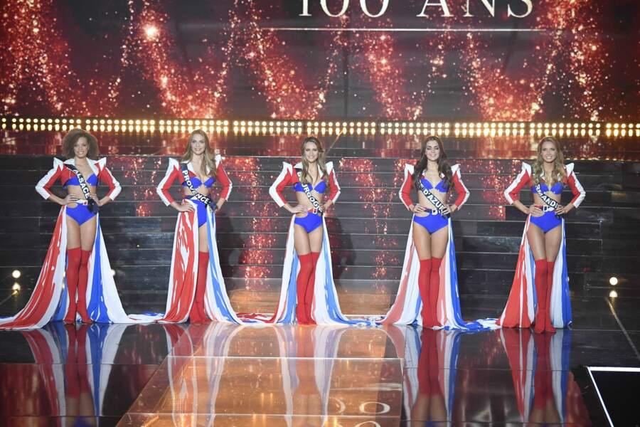 Les 5 dernières prétendantes au titre de Miss France 2021