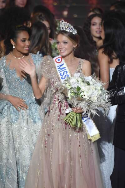 La nouvelle Miss France, Amandine Petit