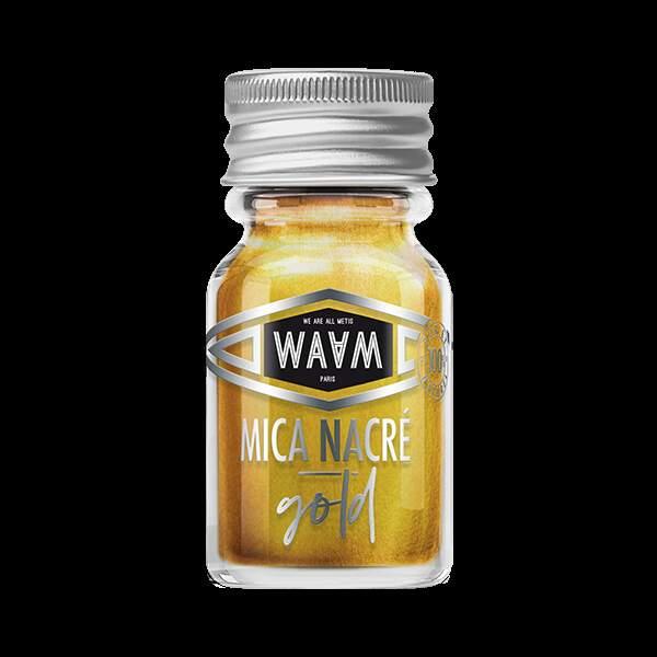 Mica Nacré Gold, Waam, 2,90€