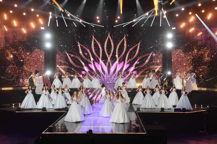 Les 29 candidates à l'élection de Miss France 2021