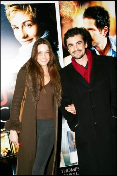 Carla Bruni et son ex-compagnon Raphaël Enthoven, dont elle est restée très proche.