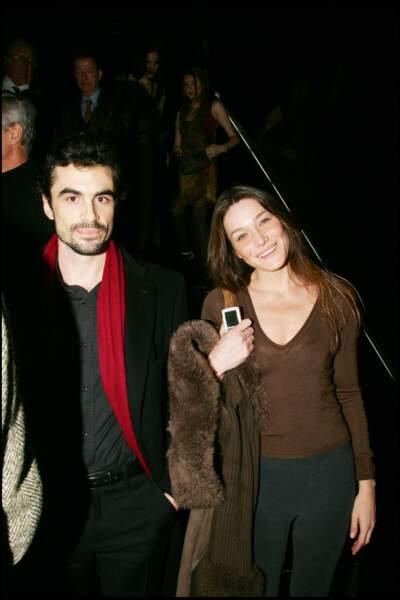 Carla Bruni et Raphaël Enthoven se séparent en 2007 après sept ans d'amour