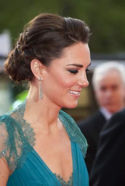 Le chignon tressé de Kate Middleton