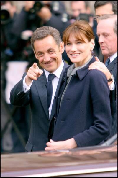 Depuis 13 ans, Carla Bruni et Nicolas Sarkozy filent le parfait amour