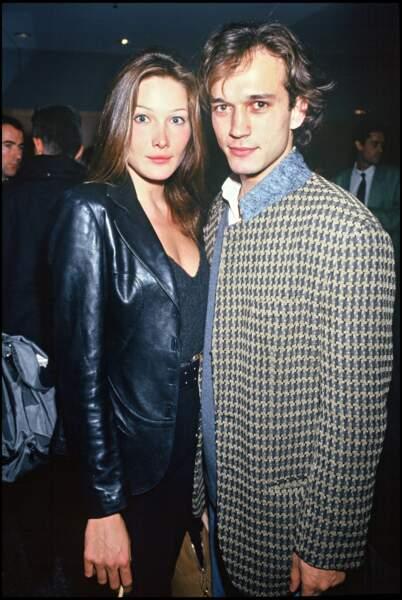 En 1992, Carla Bruni tombe sous le charme du comédien Vincent Perez