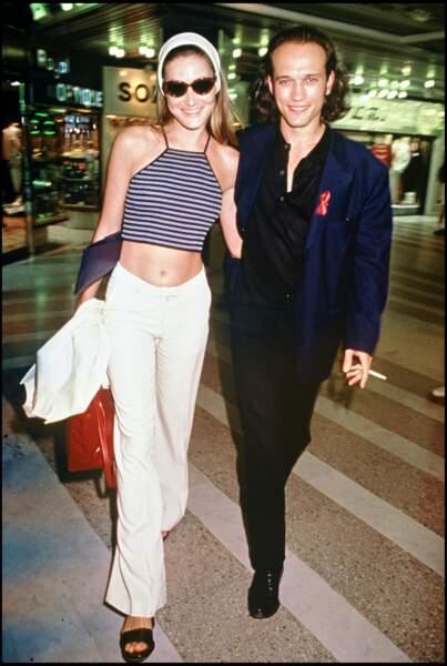 Carla Bruni et Vincent Perez au Festival de Cannes en 1994