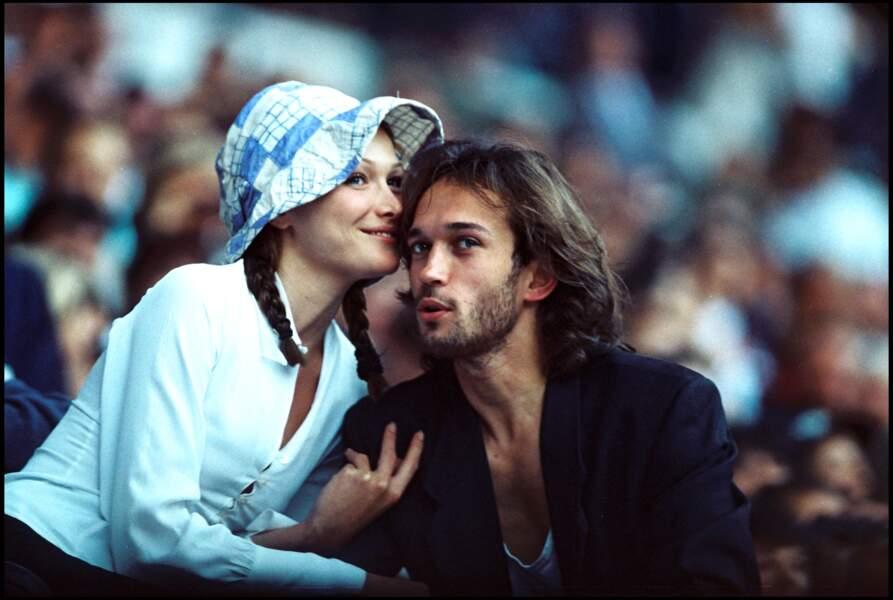 Malgré leur rupture Carla Bruni et Vincent Perez sont restés très proches