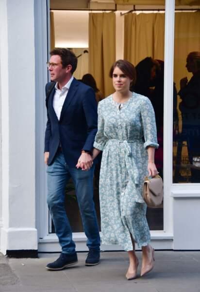 Avec son époux, Jack Brooksbank, la princesse Eugenie attend un enfant pour le début de l'année 2021.