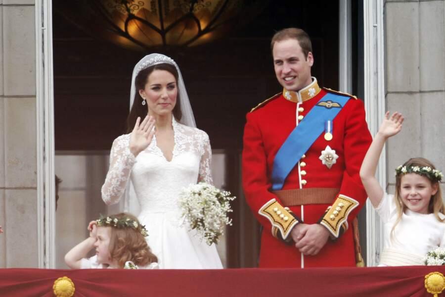 Le couple s'est uni le 29 avril 2011 devant près d'un milliard de personnes.