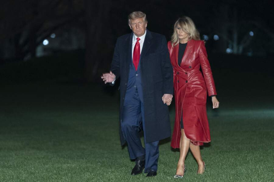 Melania Trump à Washington le 5 décembre 2020