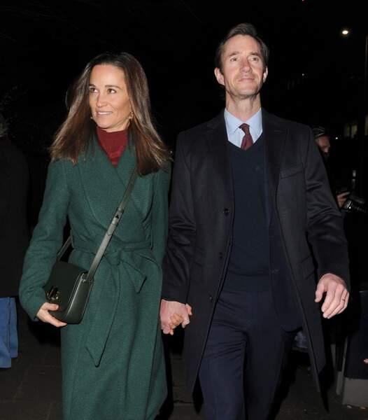 Pippa Middleton, la petite soeur de Kate, va devenir maman pour la deuxième fois, avec son mari James Matthews.