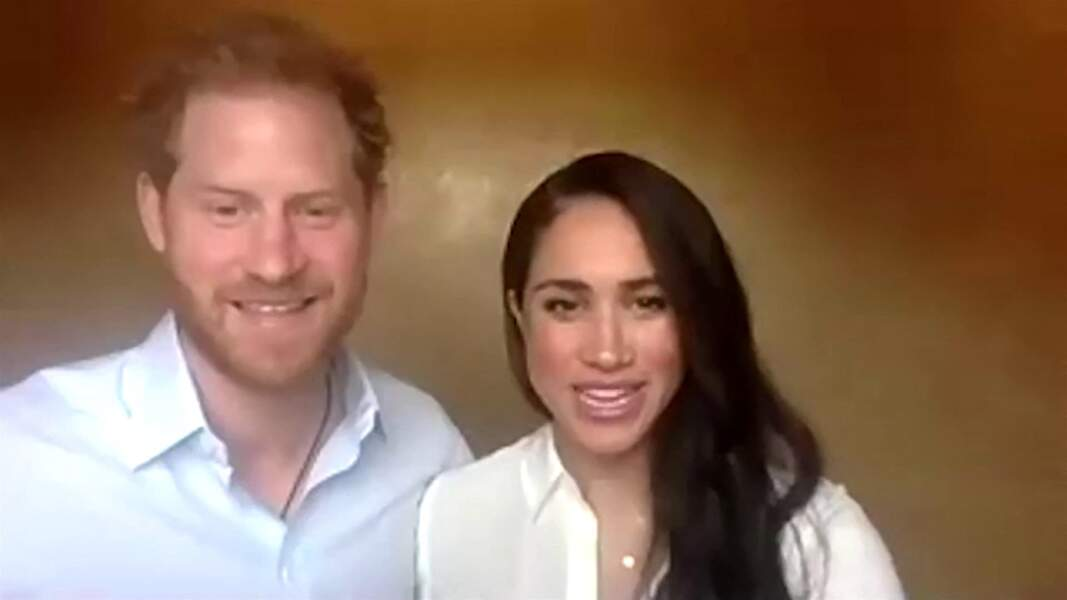 Le prince Harry et Meghan Markle abordent la question des inégalités et du racisme institutionnel en vidéoconférence avec de jeunes leaders, en leur qualité de Président et vice-président de Queen's Commonwealth Trust (QCT) à Los Angeles, le 6 juillet 2020