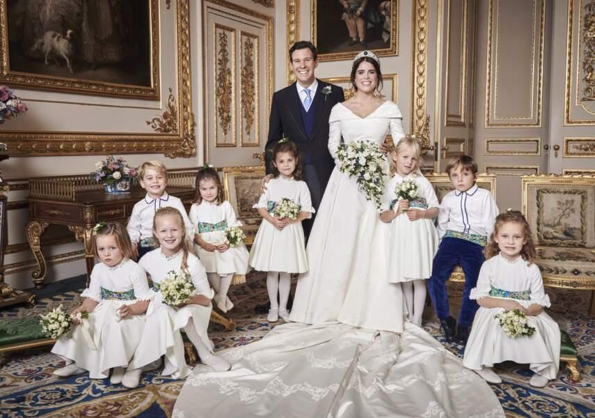 La princesse Eugenie et Jack Brooksbank se sont mariés le 12 octobre 2018.