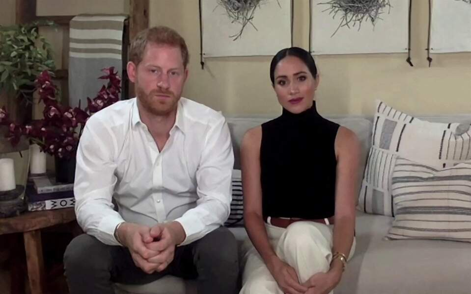 Le prince Harry et Meghan Markle,  invités dans un podcast dédié à la santé mentale, le 11 octobre 2020