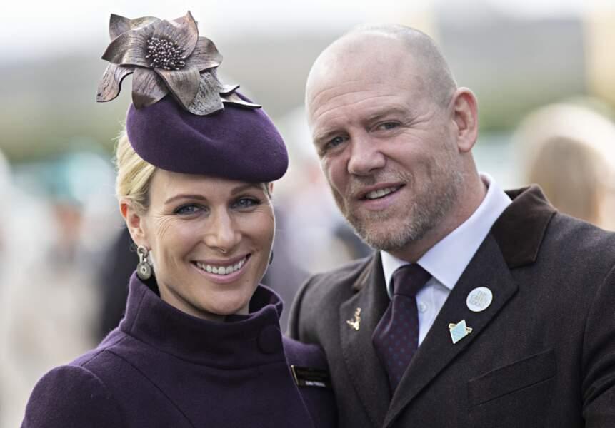 Autre carnet rose : Zara Tindall, la fille de la princesse Anne et petite-fille d'Elizabeth II, attend son troisième enfant avec son mari Mike Tindall.