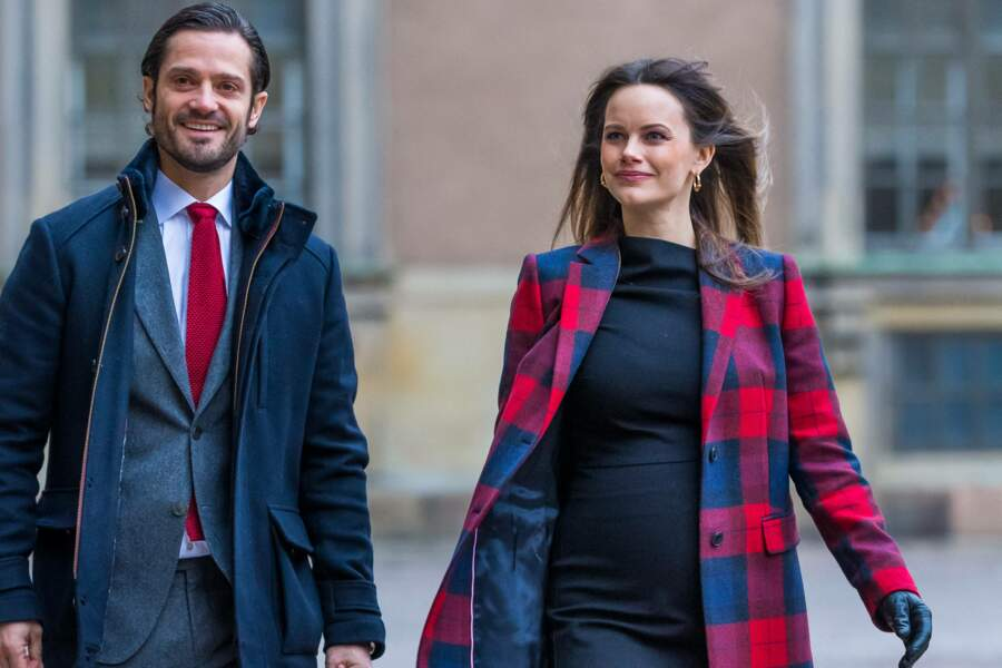 Princesse Sofia et Carl Philip de Suède