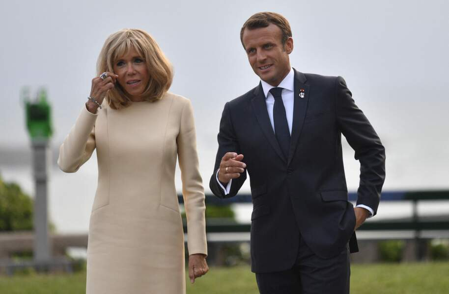 Brigitte et Emmanuel Macron, ici au G7 de Biarritz le 24 août 2019 ont prouvé que pouvoir et amour peuvent s'accorder