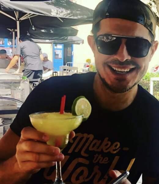 Vincent Niclo (et son cocktail)