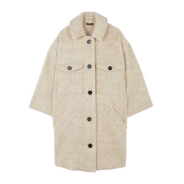 Manteau surchemise, 85,99€, Parfois