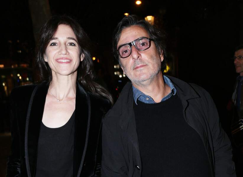 Yvan Attal et Charlotte Gainsbourg, en octobre 2019.