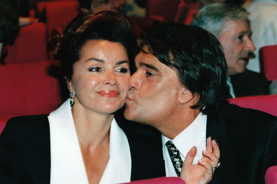 Bernard tapie et son épouse Dominique, en 1996.