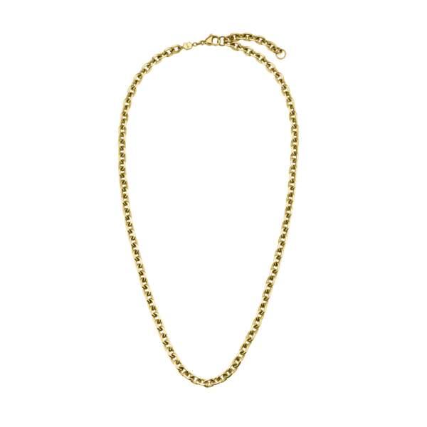 Chaîne épaisse en or, 39,95€, Cluse x Iris Mittenaere