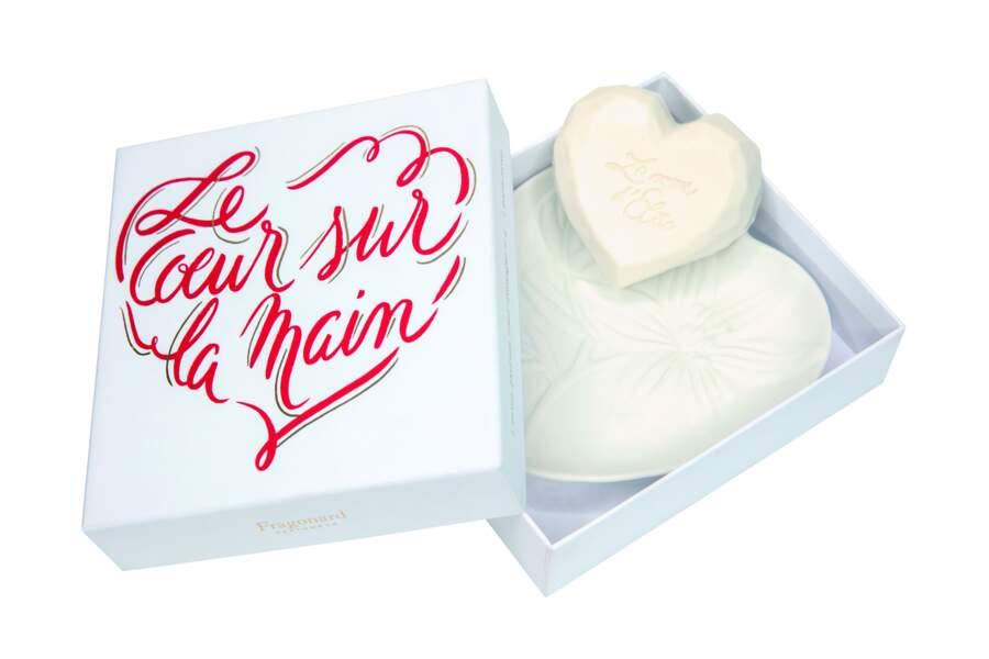 Coffret Le cœur sur la main, Fragonard x Elisecare, 25 €