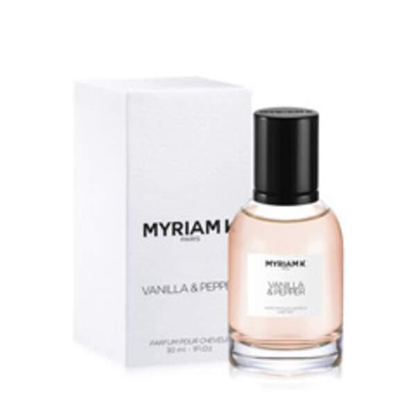 Parfum pour cheveux Vanilla & Pepper, Myriam K, 110 €