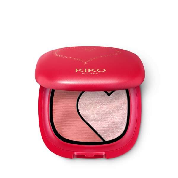 Eyeshadow Palette, 01 La Vie En Rose, collection Ray Of Love, Kiko, 10,99 €