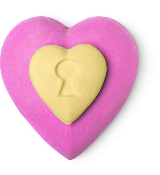 Bombe de bain Love Locket, Lush, 9,95 €