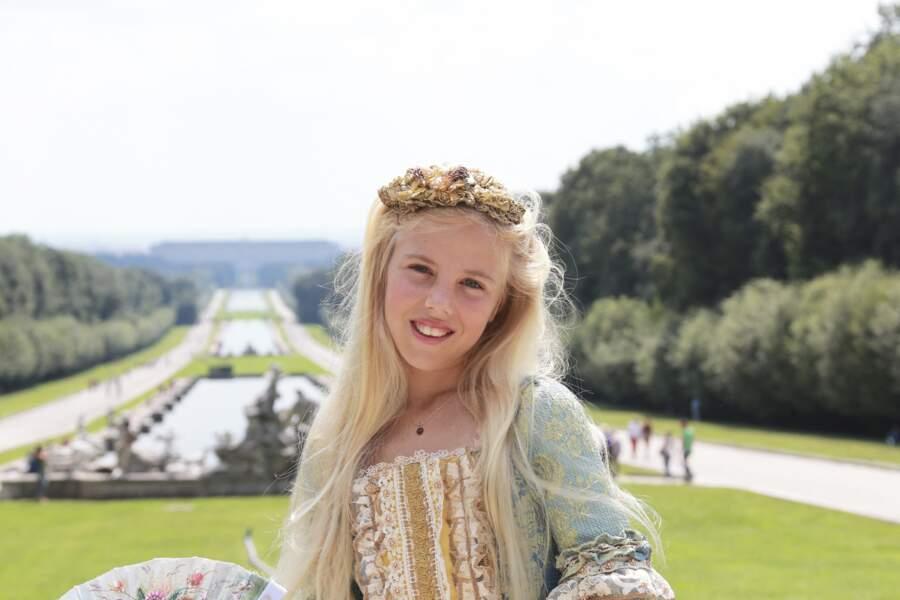 Maria-Carolina est duchesse de Palerme et Calabre