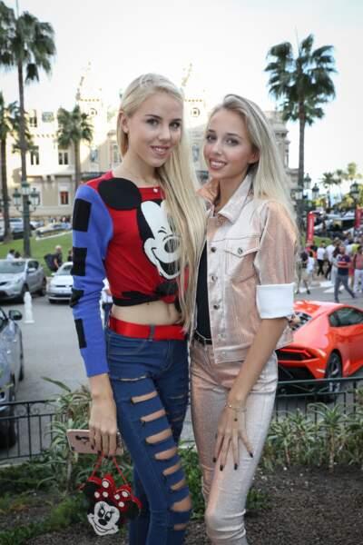 Maria-Carolina et Maria-Chiara sont présentes sur les réseaux sociaux