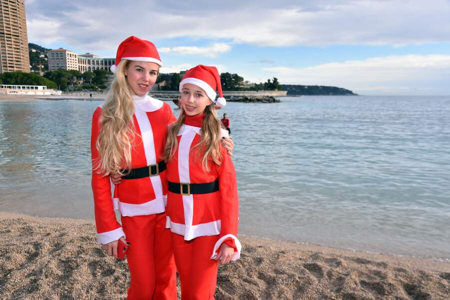 Maria-Carolina et Maria-Chiara se montrent très actives