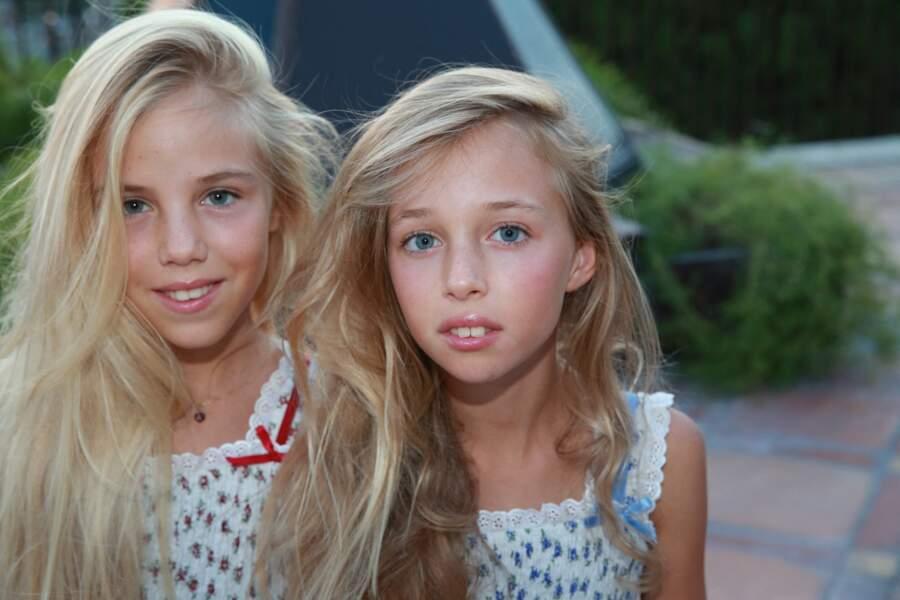 Maria-Carolina et Maria-Chiara n'ont jamais été à l'école