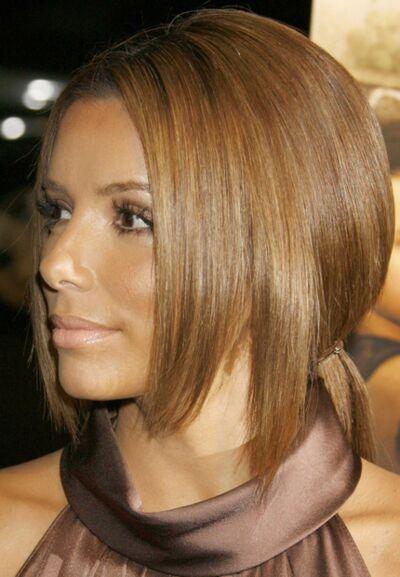La couleur de cheveux de eva longoria