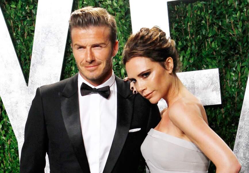 Le couple so chic lors de la soirée Vanity Fair en 2012