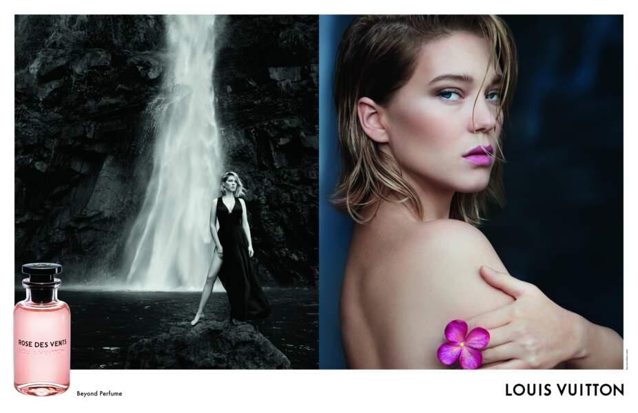 La publicité avec Léa Seydoux