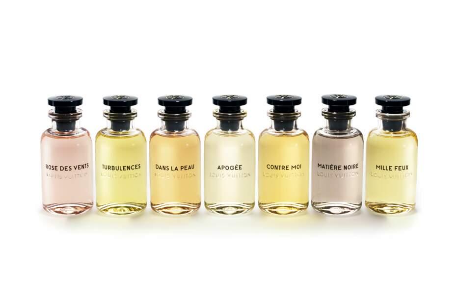 les sept fragrances