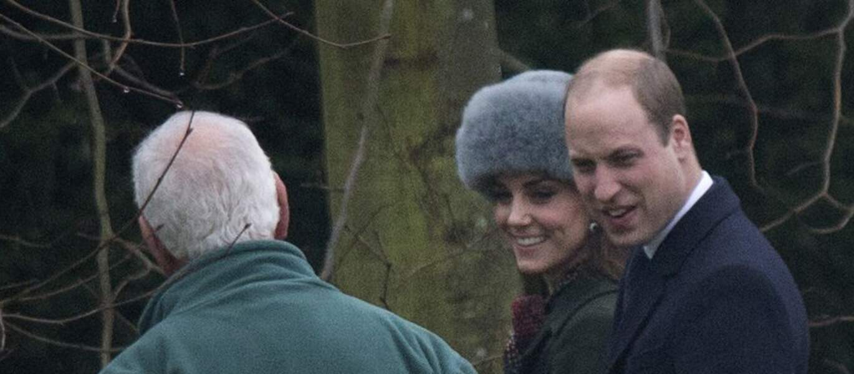 Ici avec son époux le Prince William