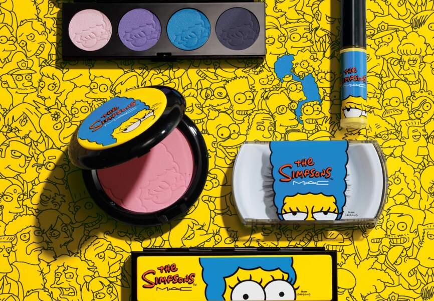 La collection The Simpson's par M.A.C.