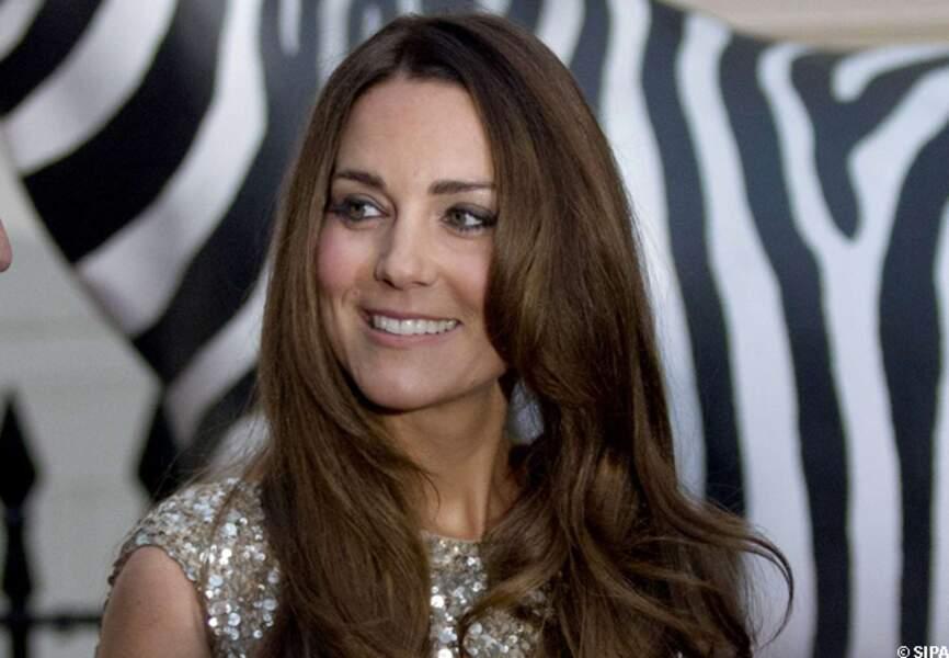 Kate affichait un visage radieux